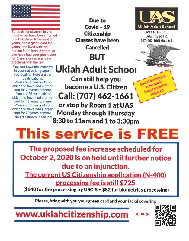 No fee increase due to injunction poster