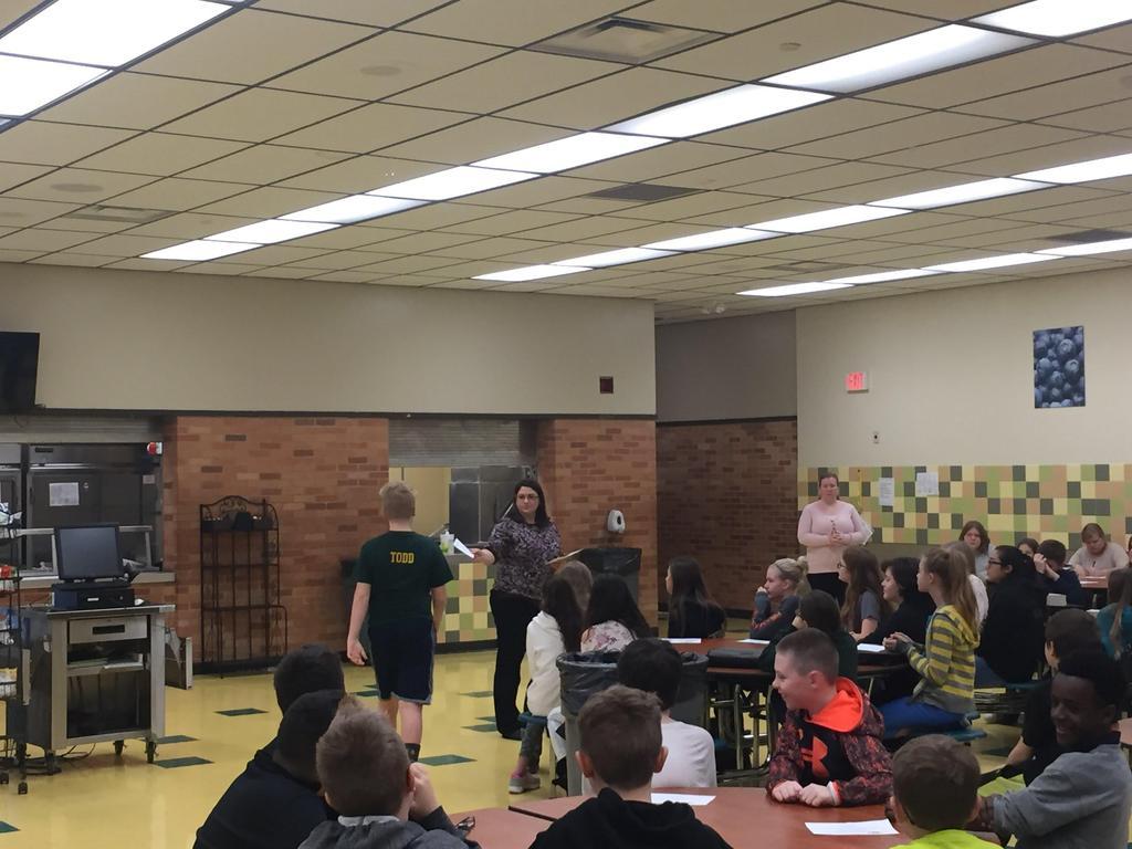 6th Grade Awards Ceremony