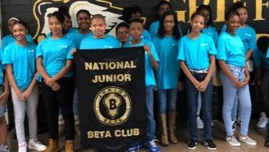 2018-2019 Jr. Beta Club Members