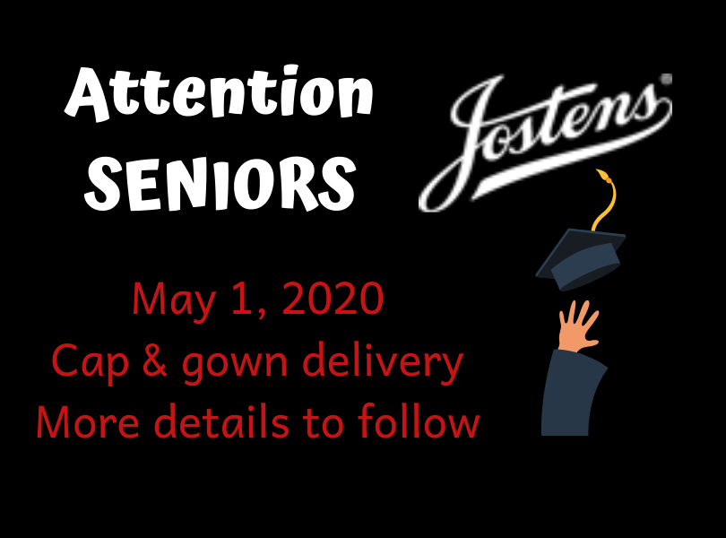 Cap & Gown Delivery - May 1, 2020