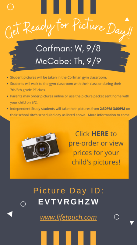 Picture Days Coming Soon!! Thumbnail Image