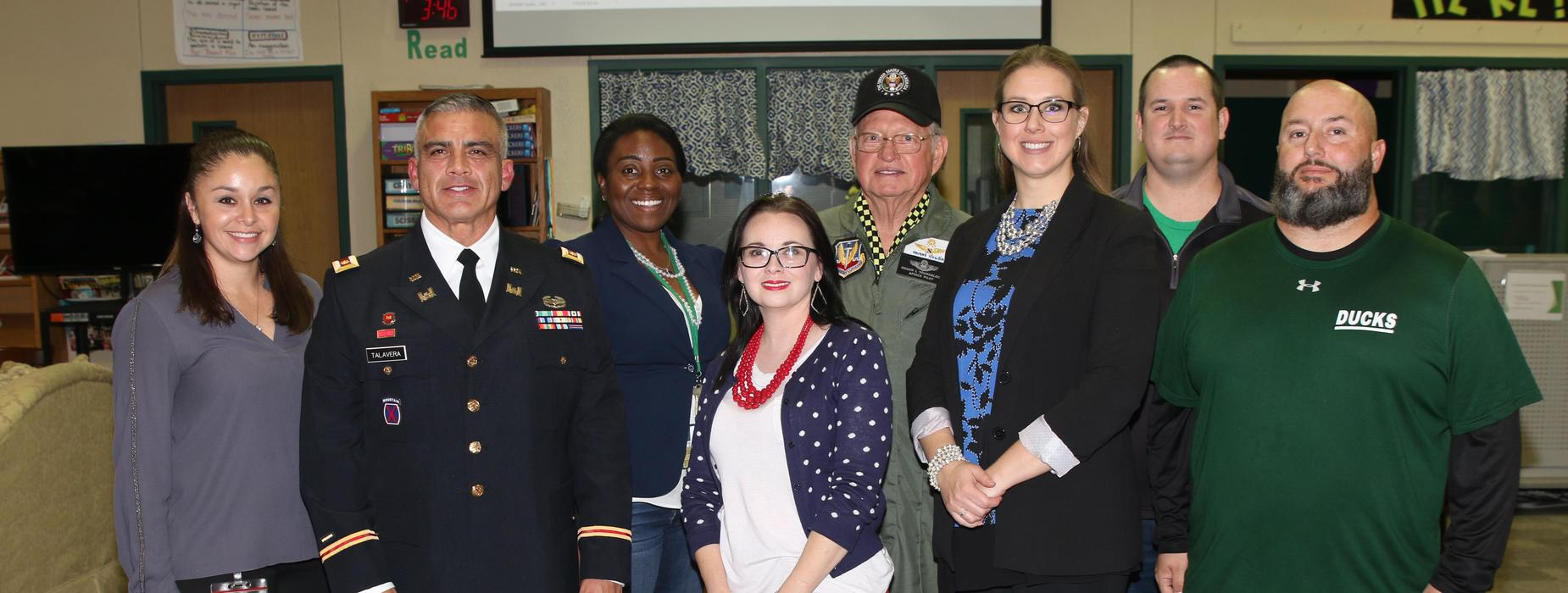 Veterans Day Reception