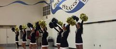 HS Cheerleaders with Pom Poms