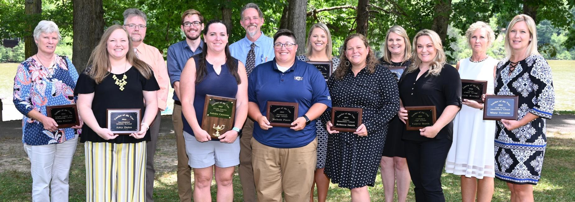 Smyth County Public Schools 2021-2022 Teachers of the Year
