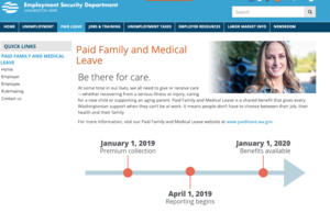 WA Paid Family and Medical Leave