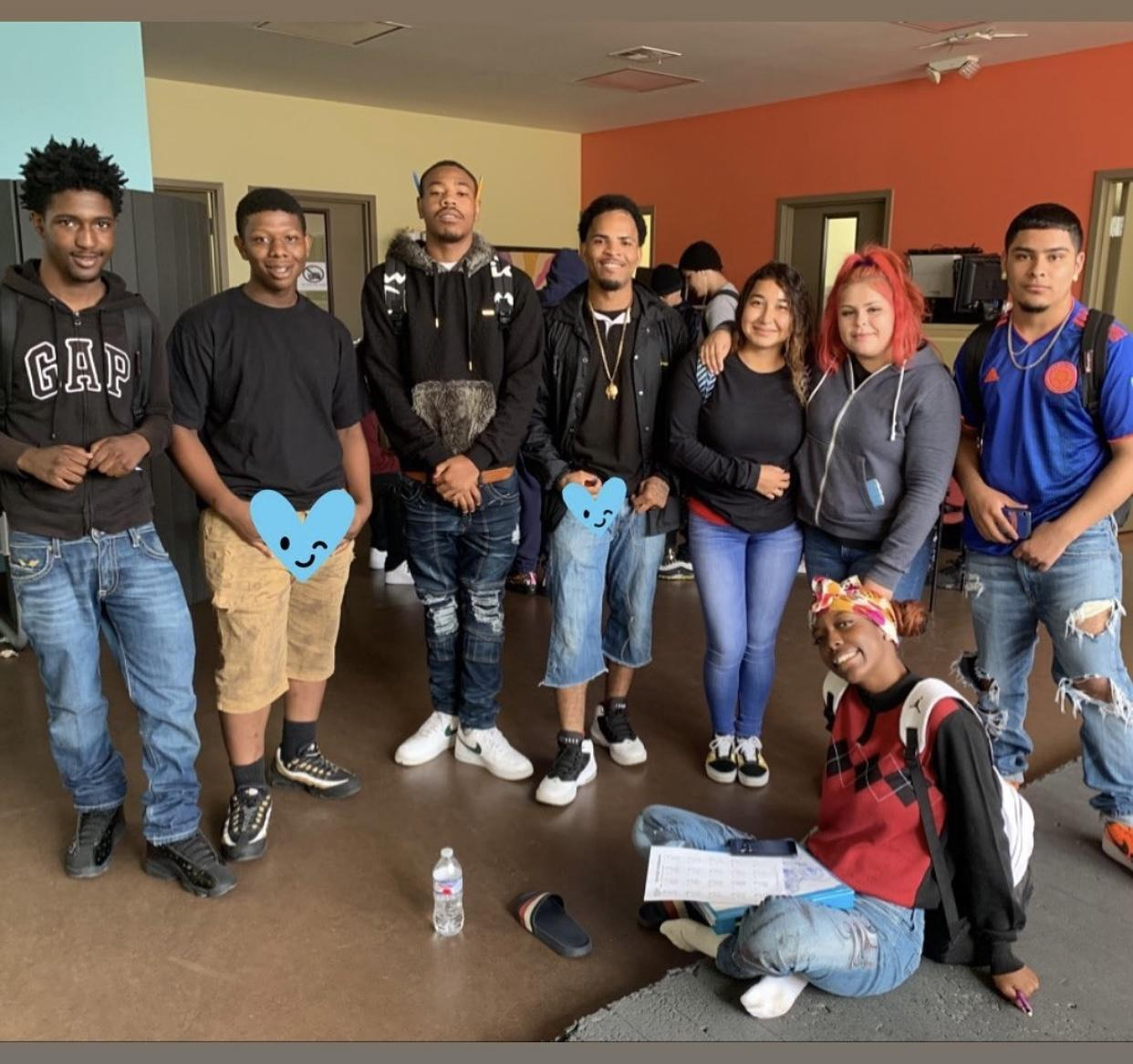 Avalon students group shot