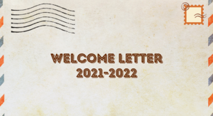 21-22 Welcome Letter