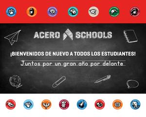 ¡Comunidad de Acero bienvenidos de regreso a la escuela!