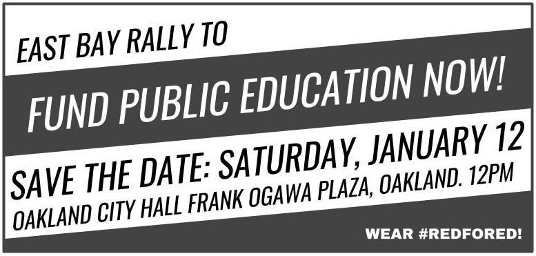 Rally to Fun Public Education