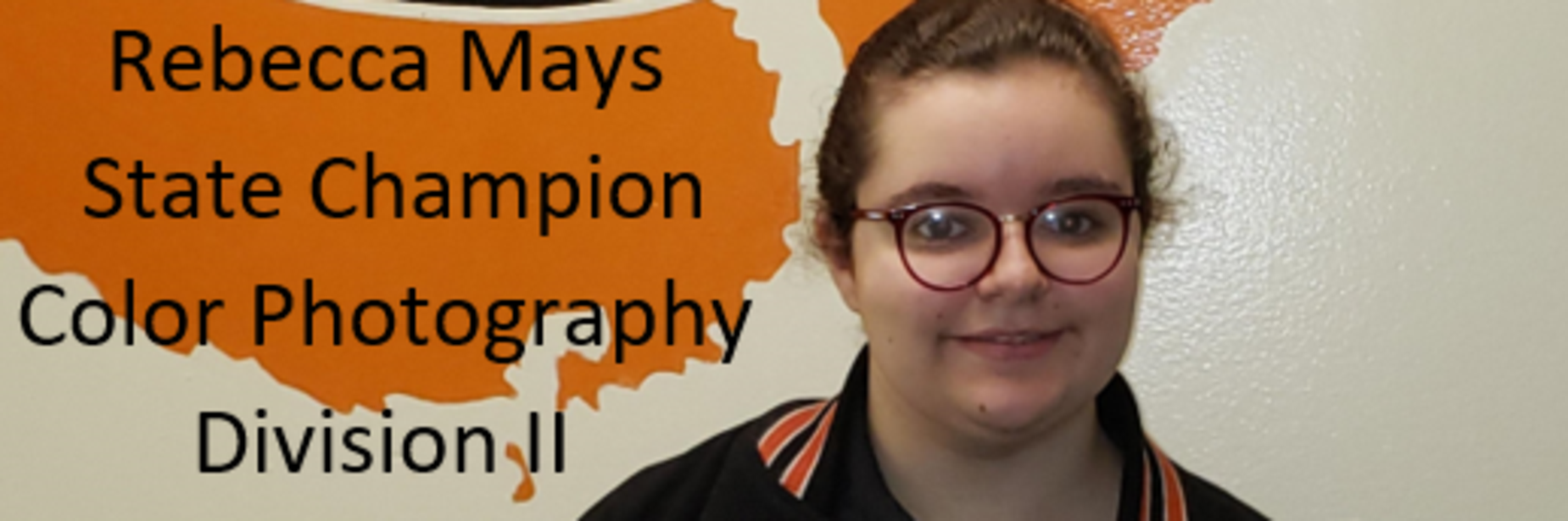 Rebecca Mays, State Champion Beta Club, Color Photography