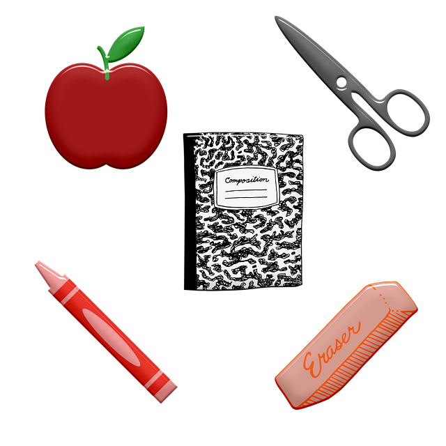 Pixabay School Supplies