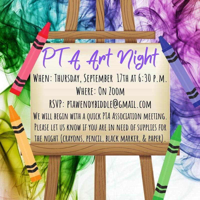 PTA Art Night Featured Photo