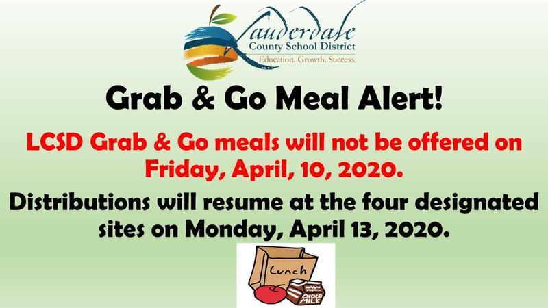 Grab & Go Meal Alert