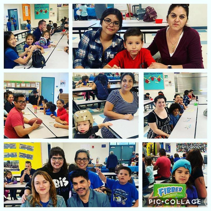 On September 20th Armstrong PTA brought families together for #Bingo #capta #PTA #armstrongeagles #proud2bepusd