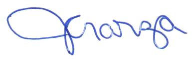 Garza signature