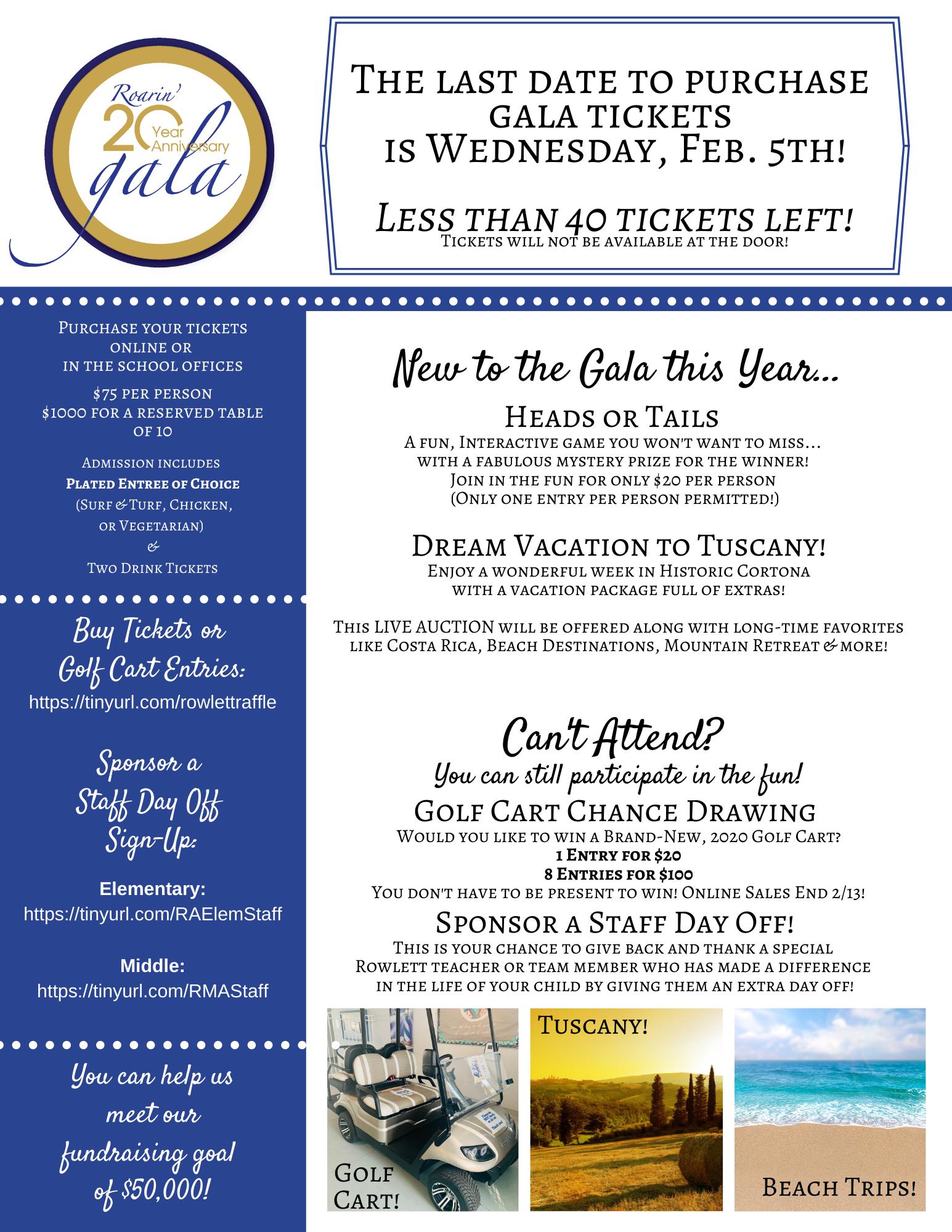 Gala Flyer