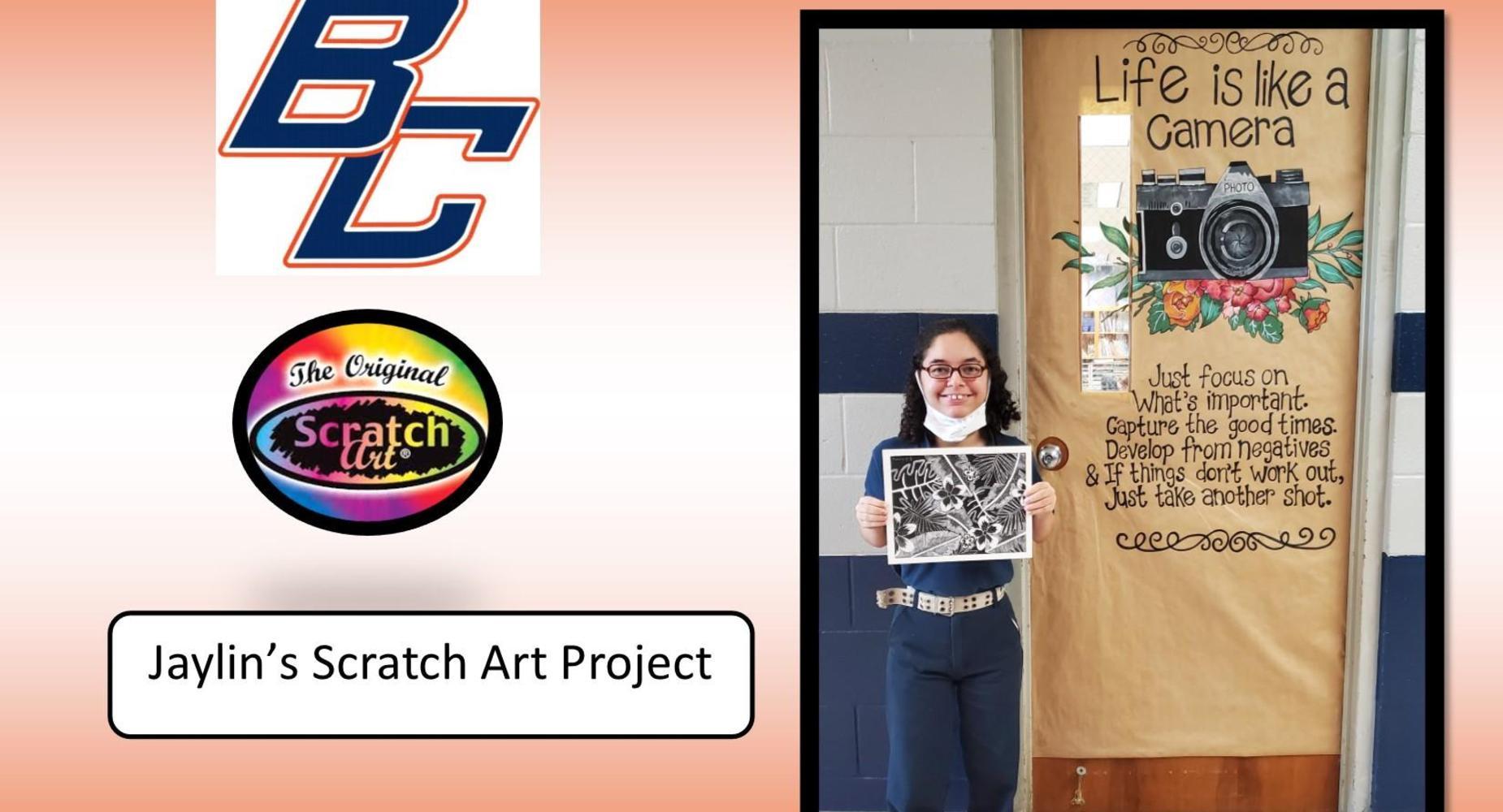 Jaylin's Art Project for Art Class