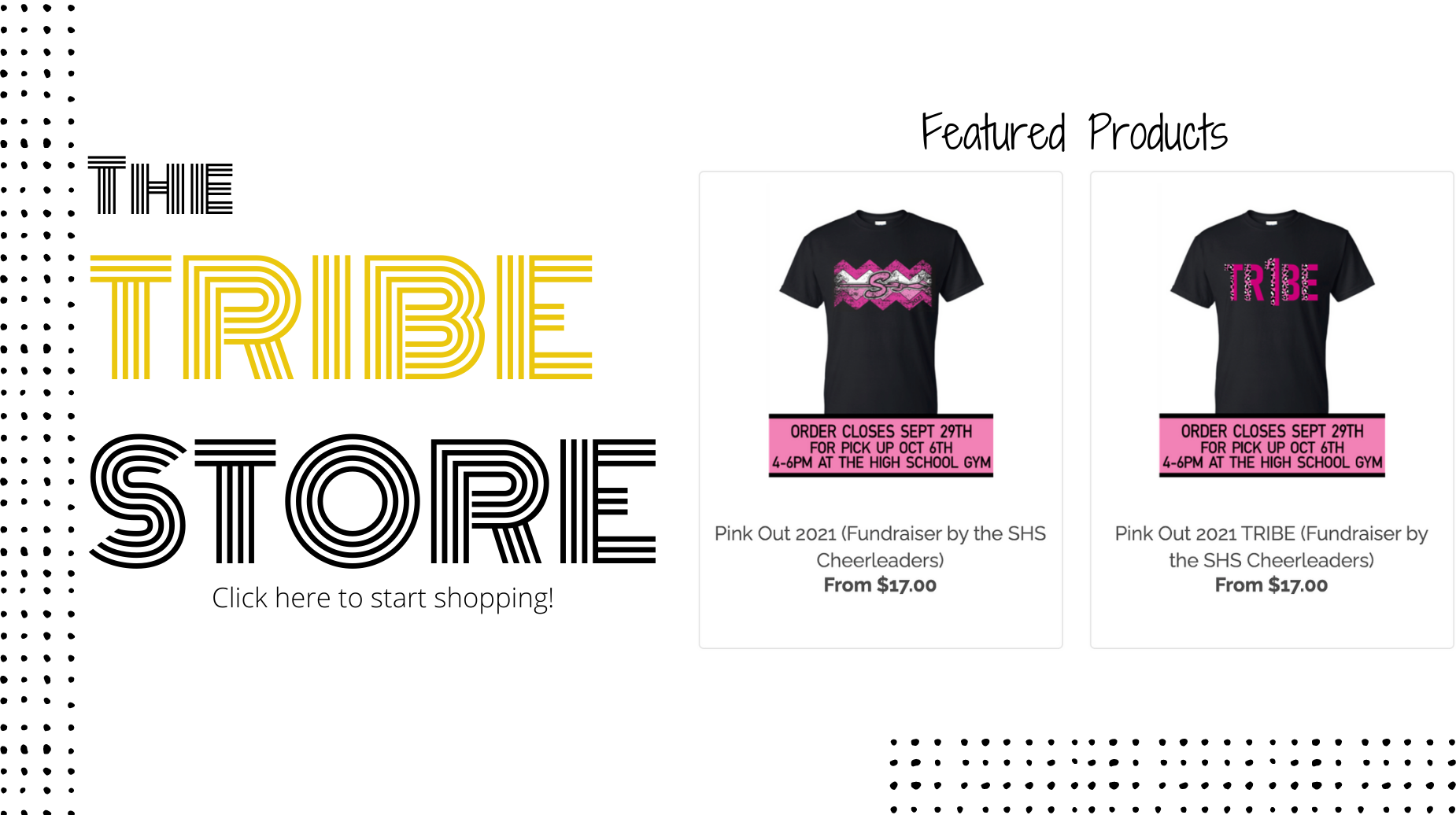 tribe store featured products