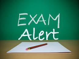 exam alert