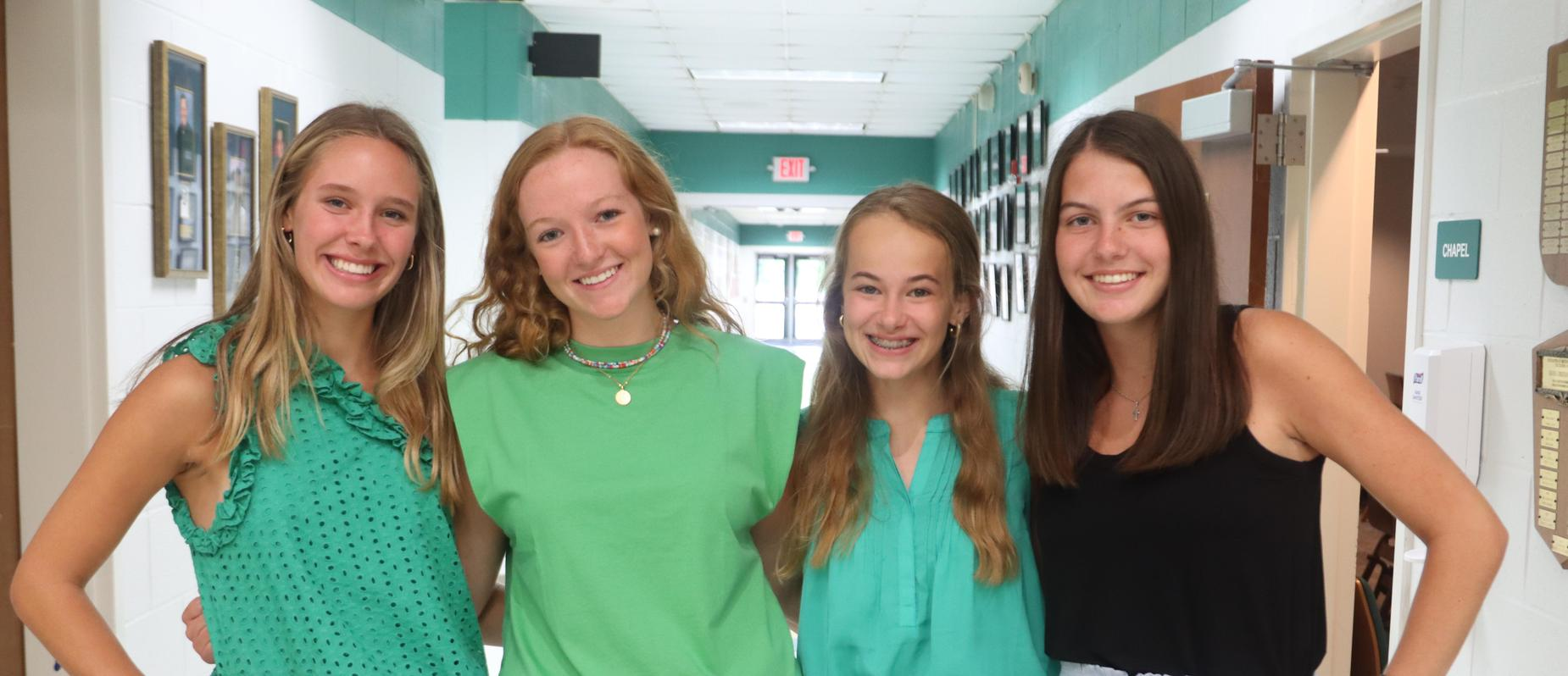 Ella, Hannah, Kate, and Katie