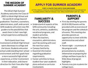 Summer Academy Brochure part 2
