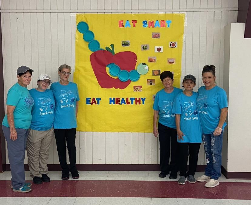 red ribbon week cafeteria