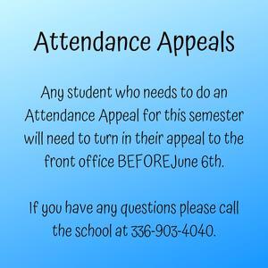 attendance appeals