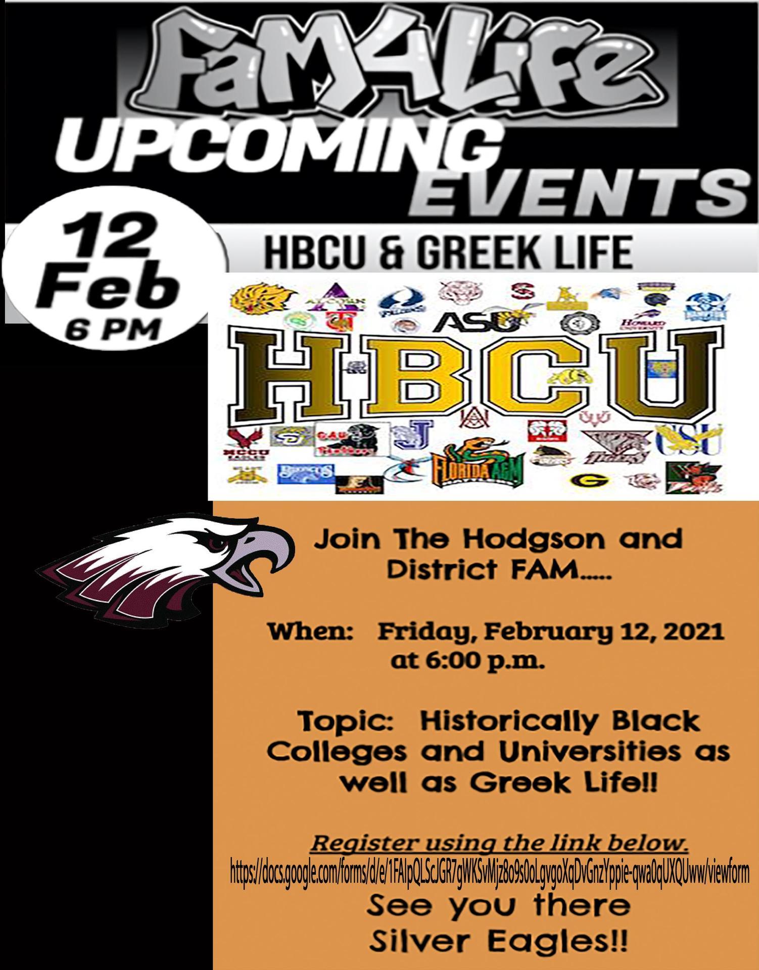 FaM HBCU Event