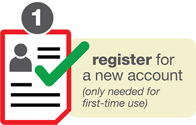 register new account icon