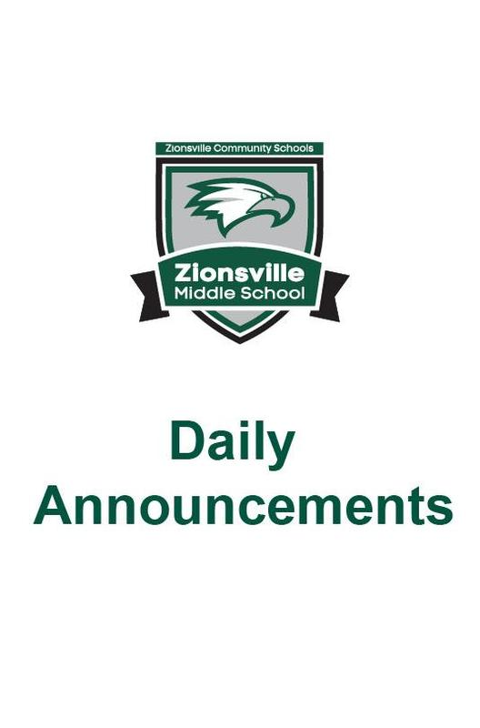 zms daily announcements