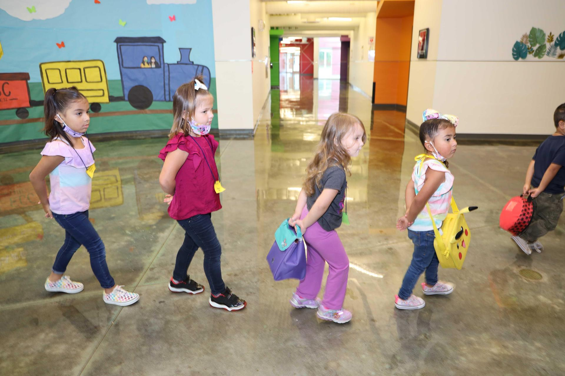 Early Childhood Center students return to instruction