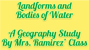 landforms and bodies of water video title
