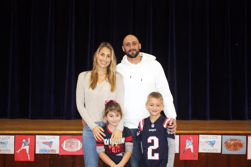 MAA Parent & Patriots QB Mr. Brian Hoyer Visits Campus Featured Photo