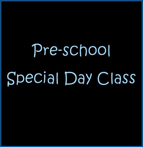 Preschool Special Day Class