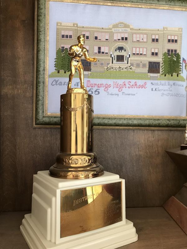 1954 Co-Champion Trophy