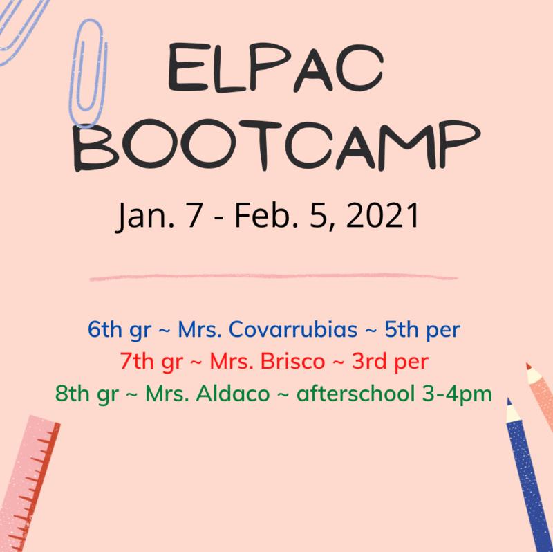 ELPAC Bootcamp! Featured Photo