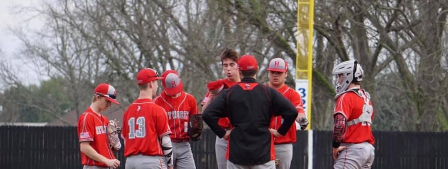 Baseball Mound Meeting
