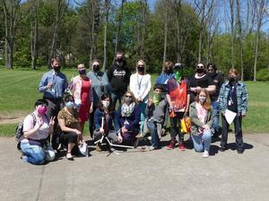 Regents math class on rocket launch day