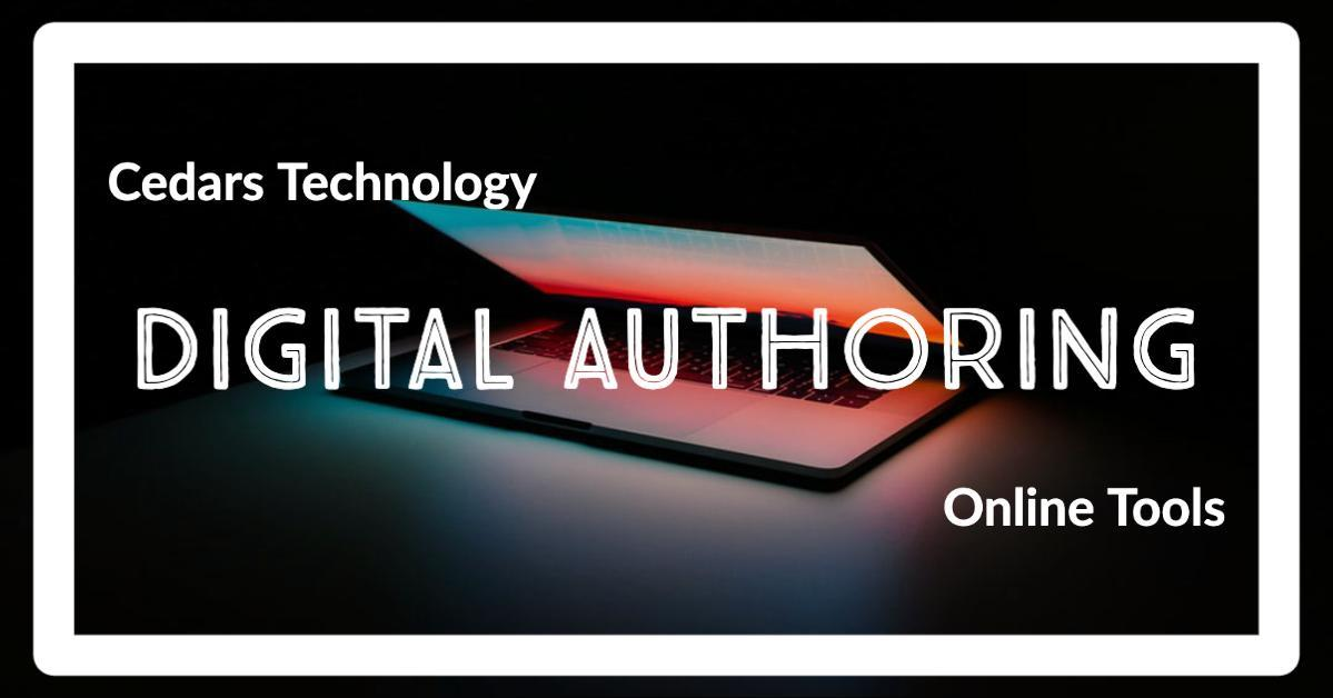 Digital Authoring