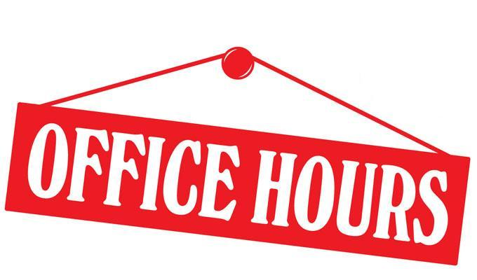 office hours graphic