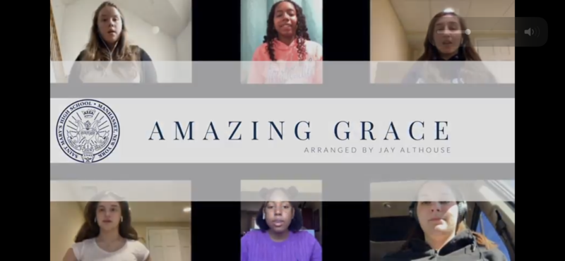 Chamber Choir sings Amazing Grace Featured Photo