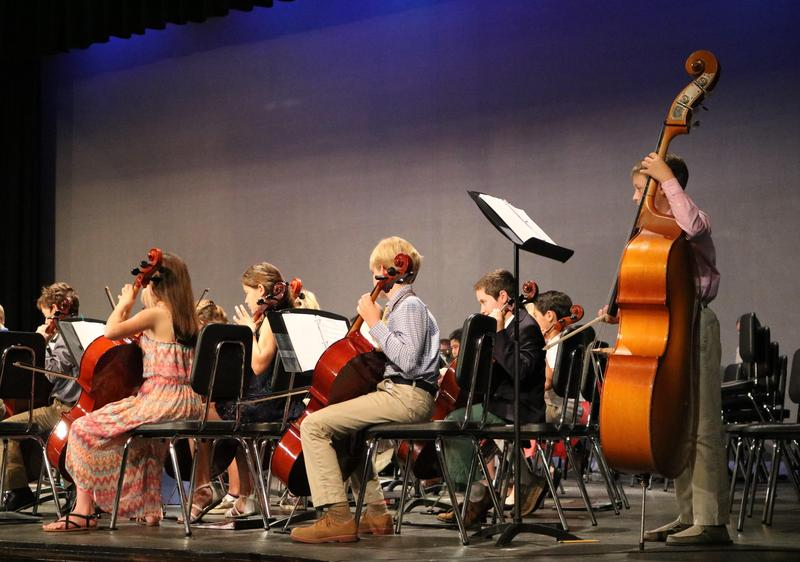 Elementary student musicians perform at All-City Concert in Westfield.