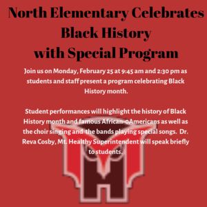 North Black History graphic