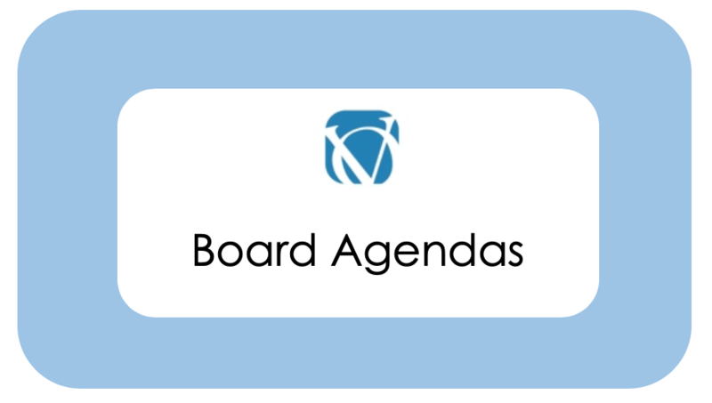 Stay current with upcoming Board Meeting agendas. Featured Photo