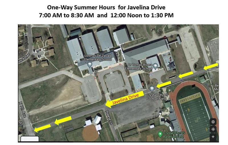 New One-Way Summer Hours for Javelina Drive Featured Photo