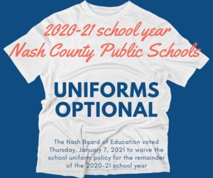 Uniforms Optional