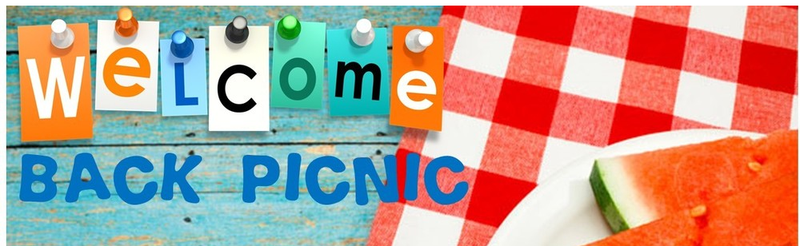 Welcome Back Picnic on Monday, 8/26, from 5-7:30pm Thumbnail Image