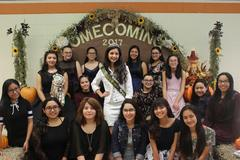 2017 - 2018 Homecoming Queen candidates
