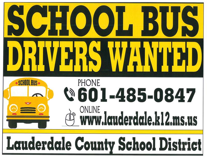 LCSD Drivers Needed Flyer