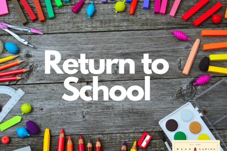 Return to School Parent Letter
